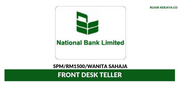 NBL Money Transfer ~ Front Desk Teller