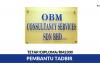 OBM Consultancy Services ~ Pembantu Tadbir