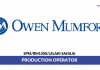 Owen Mumford ~ Production Operator