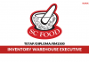 SC Food Industries ~ Inventory Warehouse Executive