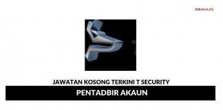 Permohonan Jawatan Kosong T Security