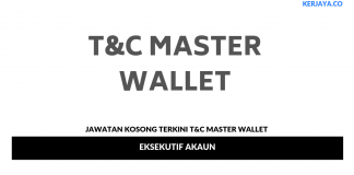 Permohonan Jawatan Kosong T&C Master Wallet