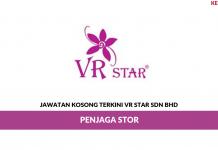 Permohonan Jawatan Kosong VR Star