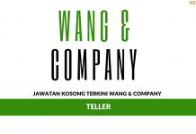 Permohonan Jawatan Kosong Wang & Company