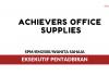Achievers Office Supplies ~ Eksekutif Pentadbiran
