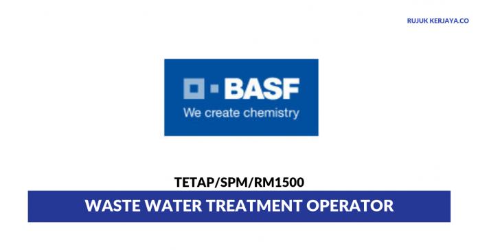 BASF Malaysia ~ Waste Water Treatment Operator