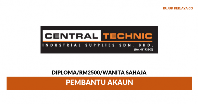 Central Technic Industrial Supplies ~ Pembantu Akaun