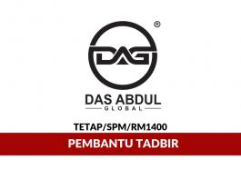 DAG - Das Abdul Global ~ Pembantu Tadbir