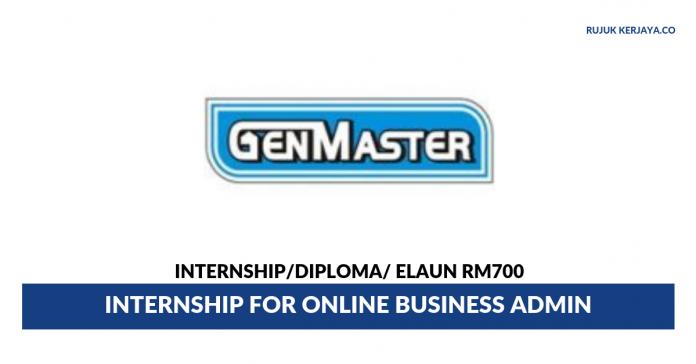 Gen Master Manufacturing ~ Internship for Online Business Admin
