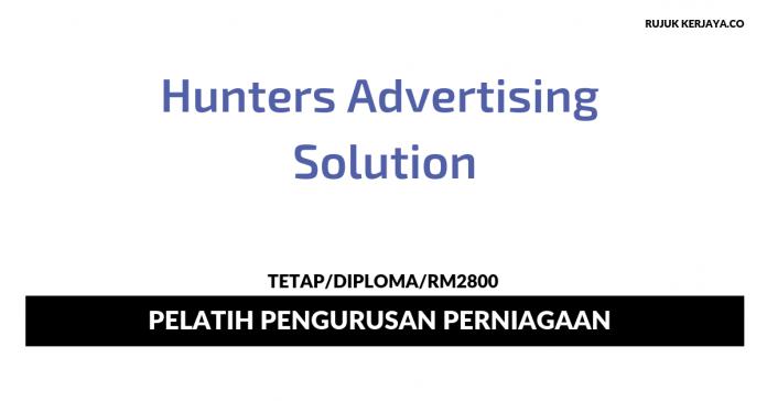 Hunters Advertising Solution ~ Pelatih Pengurusan Perniagaan