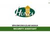 Hunza Properties Berhad ~ Security Assistant