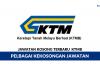 Keretapi Tanah Melayu Berhad (KTMB) ~ Pelbagai Kekosongan Jawatan