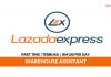 Lazada Express Malaysia ~ Warehouse Assistant / Gaji RM100 Per Day