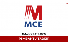 MCE Marketing ~ Pembantu Tadbir