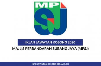Majlis Perbandaran Subang Jaya ~ Pegawai Tadbir & Pereka Grafik