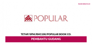 Popular Book Co ~ Pembantu Gudang