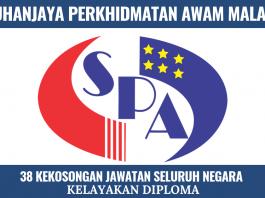 Jawatan Kosong Terbaru SPA Malaysia Seluruh Negara