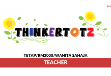 Thinkertotz World ~ Teacher