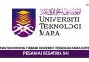 Universiti Teknologi Mara (UiTM) ~ Pegawai Kesatria S41