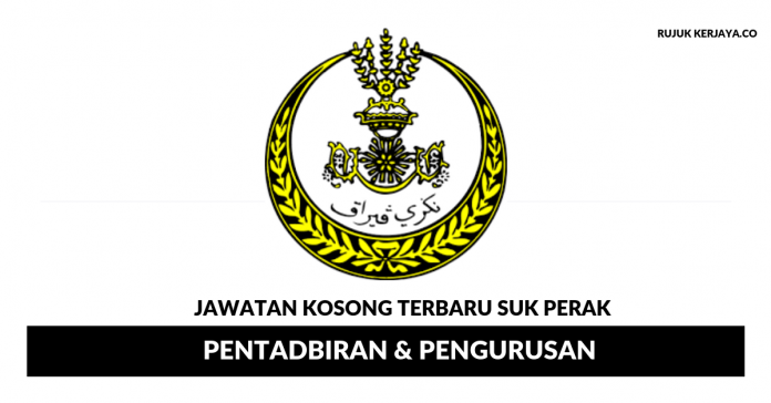 Agensi Kerajaan Negeri Perak ~ Pentadbiran & Pengurusan