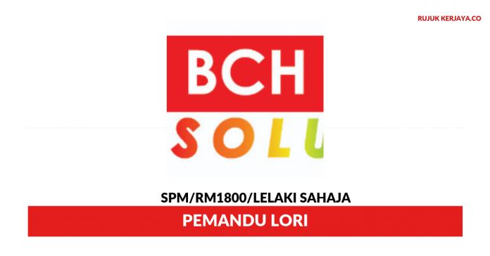 BCH Press ~ Pemandu Lori