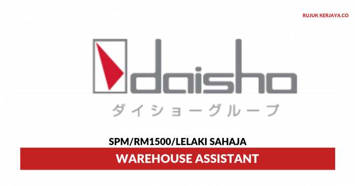 Daisho Food ~ Warehouse Assistant