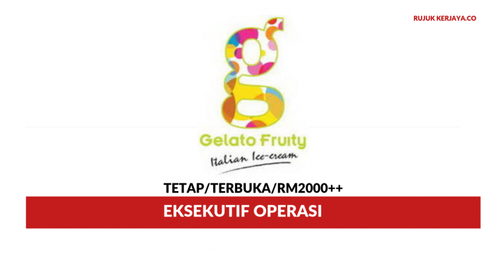 Gelato Fruity ~ Eksekutif Operasi