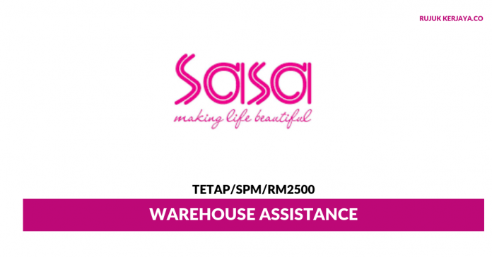 Hong Kong Sa Sa ~ Warehouse Assistance