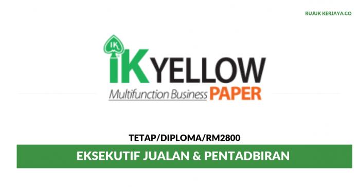 IK Yellow ~ Eksekutif Jualan & Pentadbiran