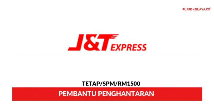 J&T Express ~ Pembantu Penghantaran