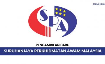 Kekosongan Jawatan Baru Di Suruhanjaya Perkhidmatan Awam Malaysia (SPA Malaysia)