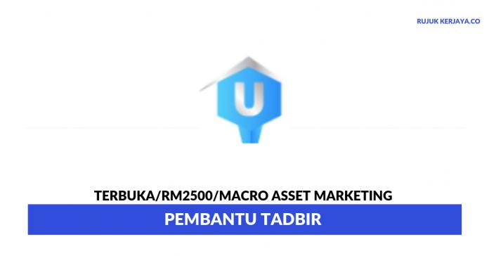 Macro Asset Marketing ~ Pembantu Tadbir