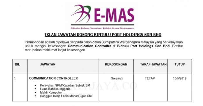 Bintulu Port Holdings ~ Communication Controller