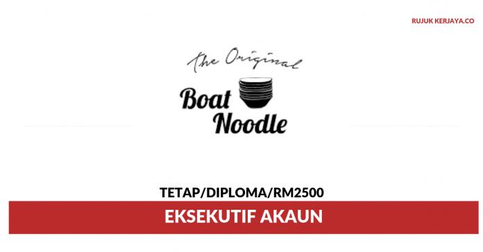 Boat Noodle ~ Eksekutif Akaun
