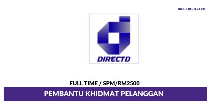 Directd Retail & Wholesale ~ Pembantu Khidmat Pelanggan