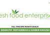 Fresh Food Enterprise ~ Eksekutif Pentadbiran & Sumber Manusia