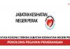 Jabatan Kesihatan Negeri Perak ~ Penolong Pegawai Penerangan
