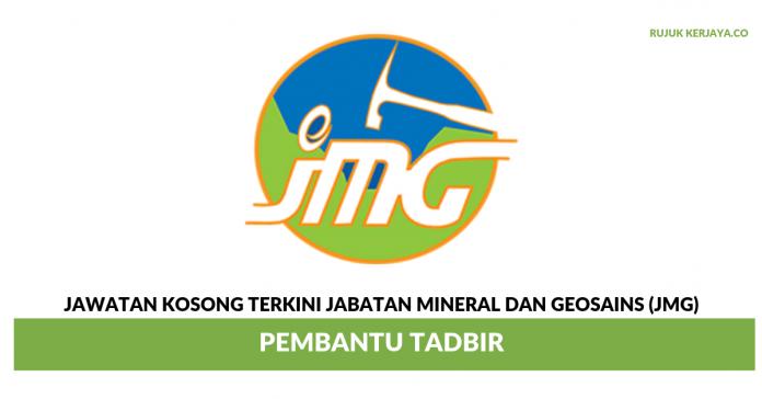 Pembantu Tadbir Jabatan Mineral Dan Geosains (JMG)