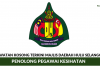 Majlis Daerah Hulu Selangor ~ Penolong Pegawai Kesihatan