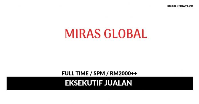 Miras Global ~ Eksekutif Jualan