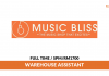 Music Bliss ~ Warehouse Assistant / Gaji RM1700