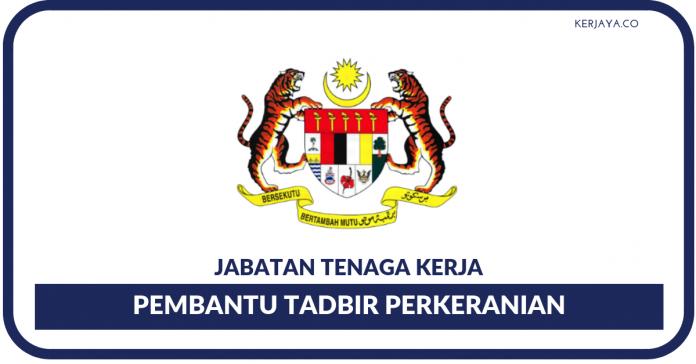 Pembantu Tadbir (Perkeranian_Operasi) N19 Jabatan Tenaga Kerja