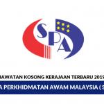Jawatan Kosong Kerajaan Ambilan SPA Malaysia