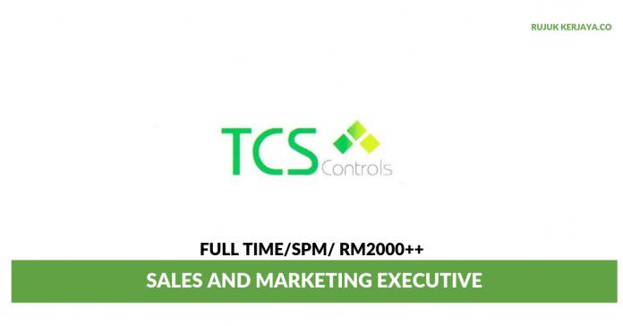 TCS Controls ~ Sales and Marketing Executive