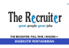 The Recruiter ~ Eksekutif Pentadbiran