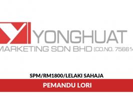YongHuat Marketing ~ Pemandu Lori