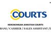 Courts (Malaysia) ~ Kerani / Cashier / Sales Assistant / DLL