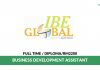 IBE Global ~ Business Development Assistant