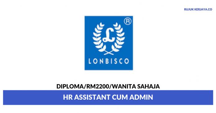 Khee San Food Industries ~ HR Assistant cum Admin