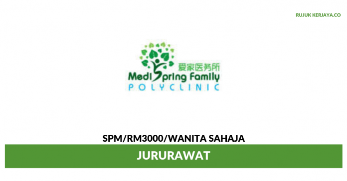 Medispring Health Group ~ Jururawat